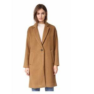 Madewell Monsieur wool coat